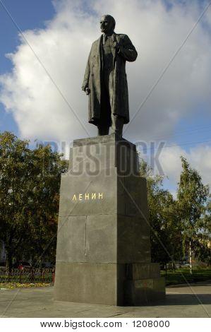 Lenin`S Statue