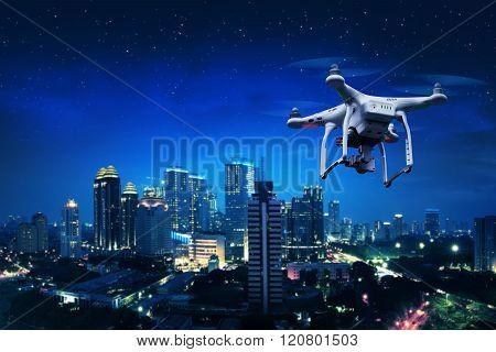 Small White Drone
