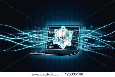 Internet Broadband Laptop