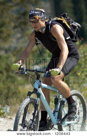 Young Mountain Biker