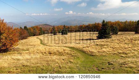 Autumnal View From Mount Strazov - Strazovske Vrchy