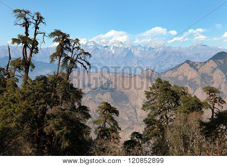 Panoramic View From Khaptad National Park