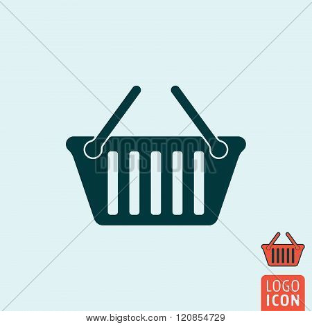Basket Icon Isolated