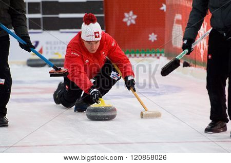 Curling Player Simon Gempeler