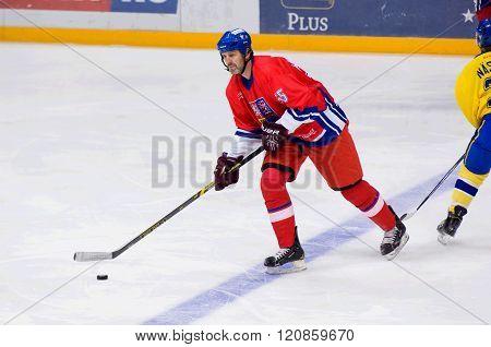 Jaroslav Nedved (55) In Action