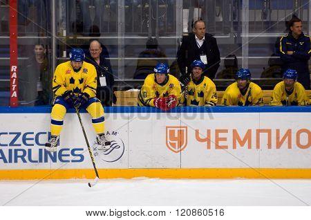 Sweden Team Wait Free Shot