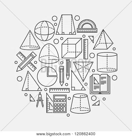 Trigonometry and geometry illustration