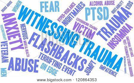 Witnessing Trauma Word Cloud