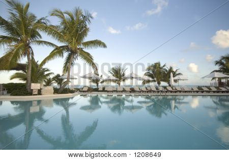 Swimming Pool By The Ocean
