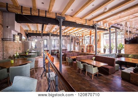 Spacious Modern Restaurant