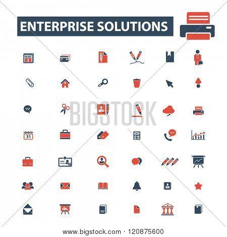 enterprise solutions icons