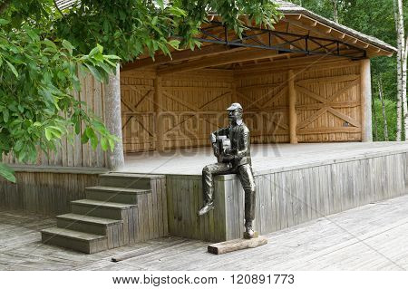 Landscape Park In Lithuania