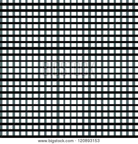 Simple Seamless Irregular Geometric Pattern With Rectangular Shapes.