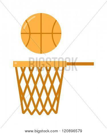 basketball ball net vector illustration. basketball ball net isolated on white background. basketball ball net vector icon illustration. basketball ball net isolated vector. basketball ball net