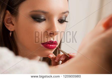 Creating Beautiful Makeup.