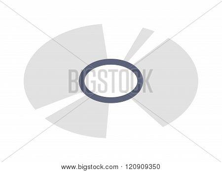 CD isometric vector illustration