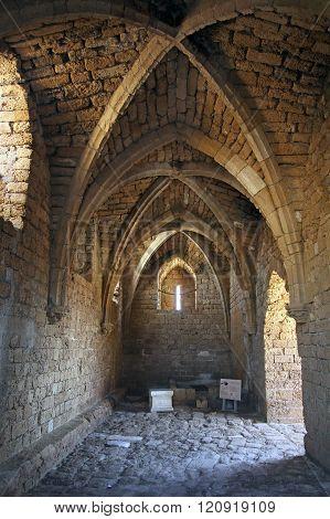 Fortified Crusader City In Caesarea