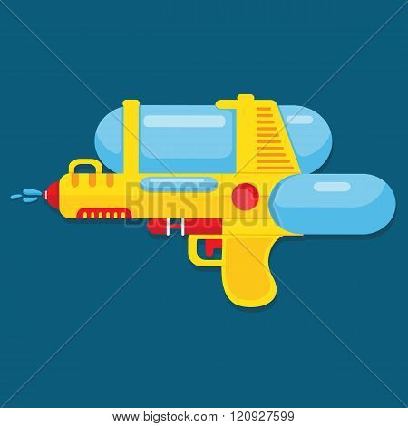 Water gun design for summer.
