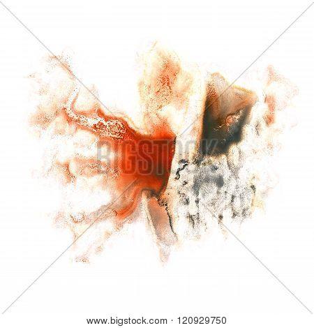 paint black Brown splash color ink watercolor isolated stroke splatter watercolour aquarel brush poster