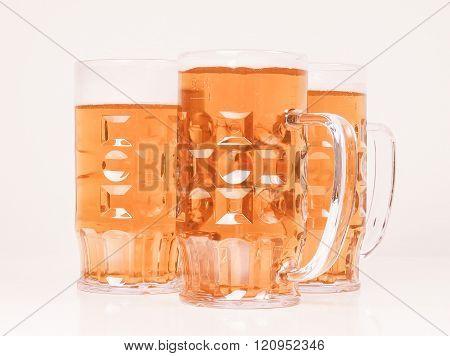 Lager Beer Vintage