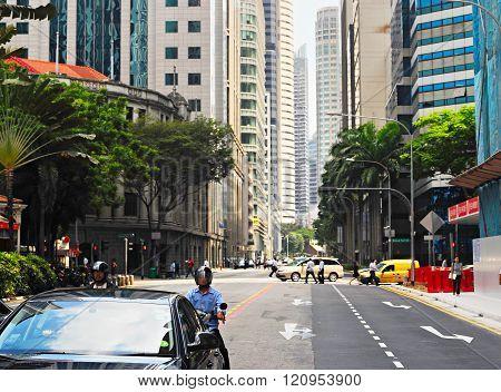 Singapore Road Traffic