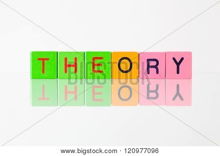 Theory - An Inscription From Children's Blocks
