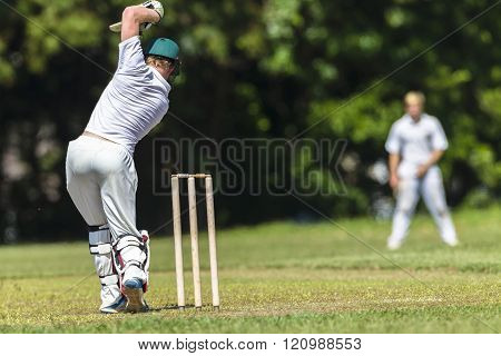 Cricket Batsman Action