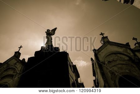 sunrise La Recoleta Cemetery