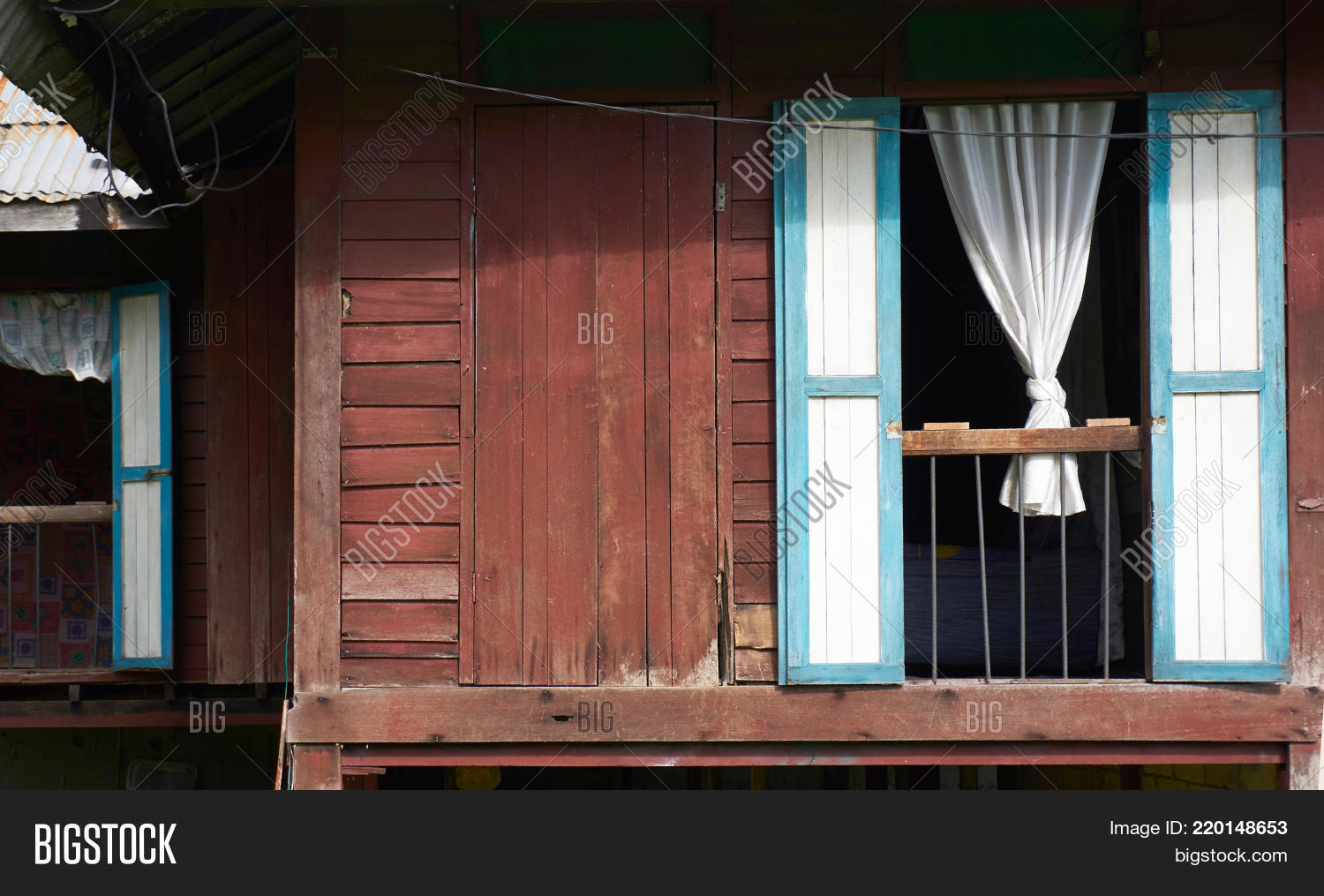 Old Malay House Rural Image & Photo (Free Trial) | Bigstock