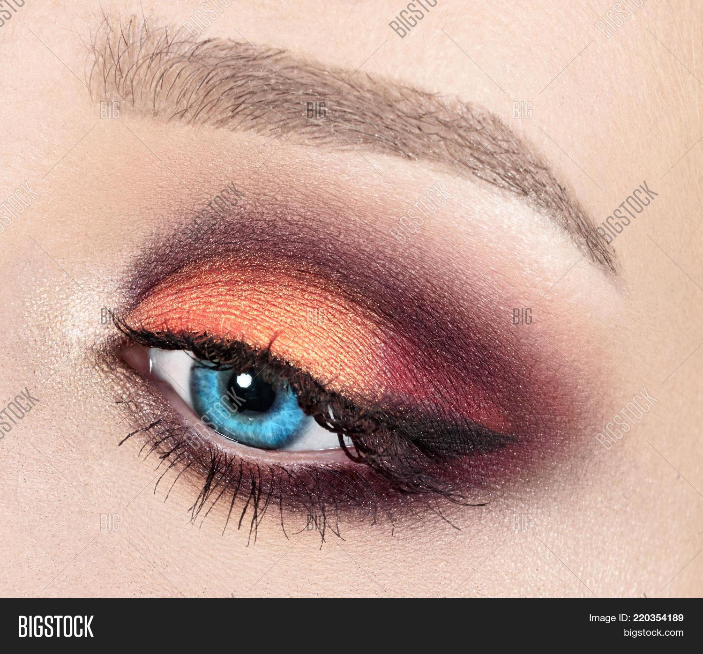 Modern Fashion Makeup Image Photo Free Trial Bigstock