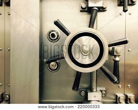 Bank Safe Vault Security Safety Secure Financial
