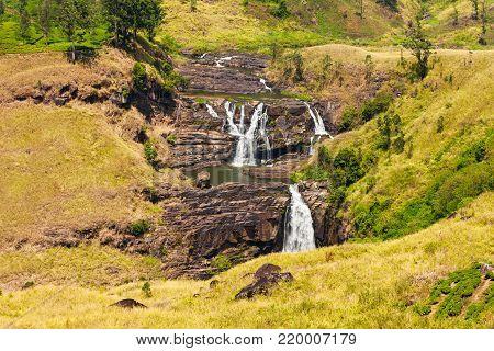 St. Clair Waterfall, Nuwara Eliya