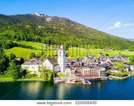 Bad Ischl Aerial View