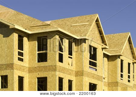 Apartment Building Under Construction