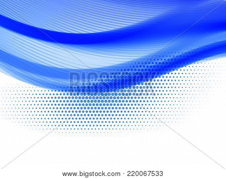 Vector striped line. EPS10 with transparency. Abstract composition with curve lines. Striped lines for relax theme background. Background with copy space. Place for text. Border lines
