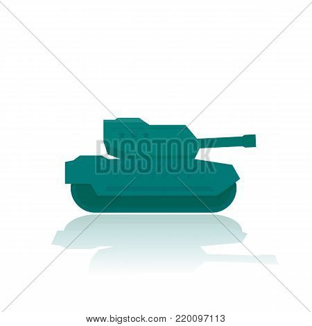 military tank, combat armoured fighting vehicle, eps 10 file, easy to edit poster