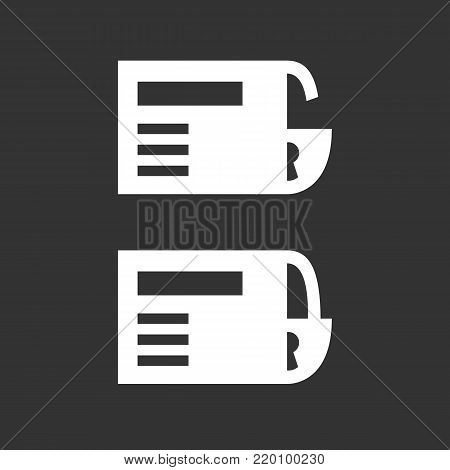 Credit card lock and unlock icon illustration isolated sign symbol. Credit card lock vector logo. Flat design style. Modern vector pictogram for mobile and web design - stock vector