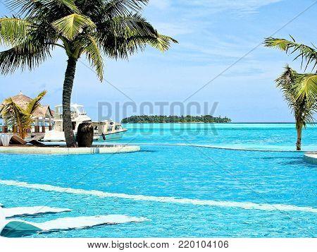 Kandooma Maldives, South Male Atoll, Pool Area