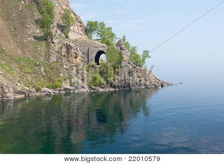 Old Railroad Tunnel Near Lake Baikal