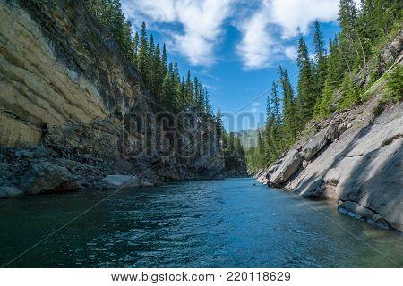 Stewart Canyon in Banff National Park, Canada