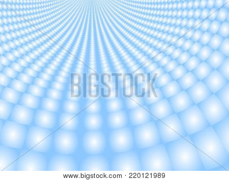 Vector radial blur special effect. Optical illusion of tunnel. Abstract background with perspective. Blurred background. Gradient effect. Abstract vector 3d effect. Illusion of halftone effect. EPS10