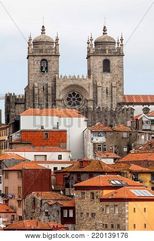 Porto Cathedral is one of the most important tourist sights in Porto, Portugal and a historical and architectural landmark of the city.