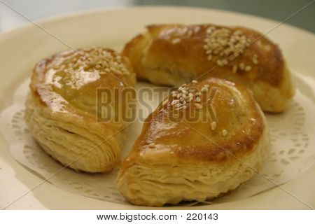 Chinese Char Siu Pastries