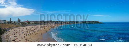Panorama of Bondi Beach - Australia