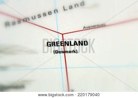 Greenland, a large Arctic island and autonomous constituent country within the Kingdom of Denmark.