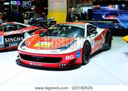 BANGKOK - THAILAND, December 3,2017 : Motor expo 2017, The 34th Thailand International Motor Expo at Impact exhibition at Muangthongthani in Bangkok Thailand.