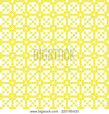 Seamless embroidered texture of abstract flat patterns, cross-stitch
