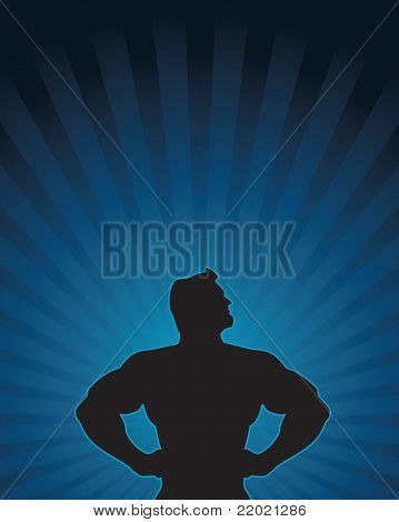 Super Hero Silhouette