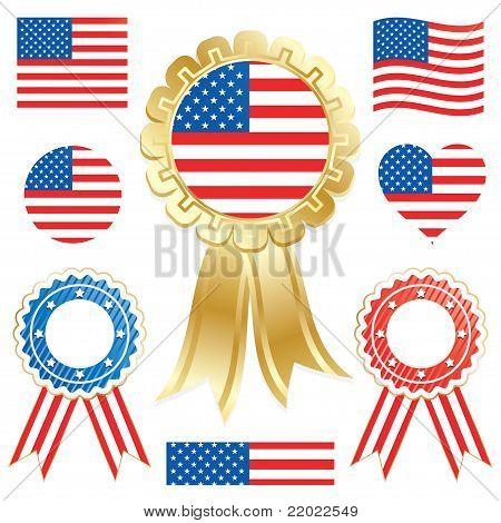 USA Flaggen