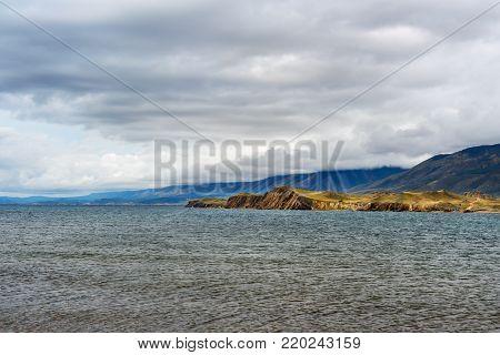 Cape Hadarta. Maloe More On Lake Baikal. Russia